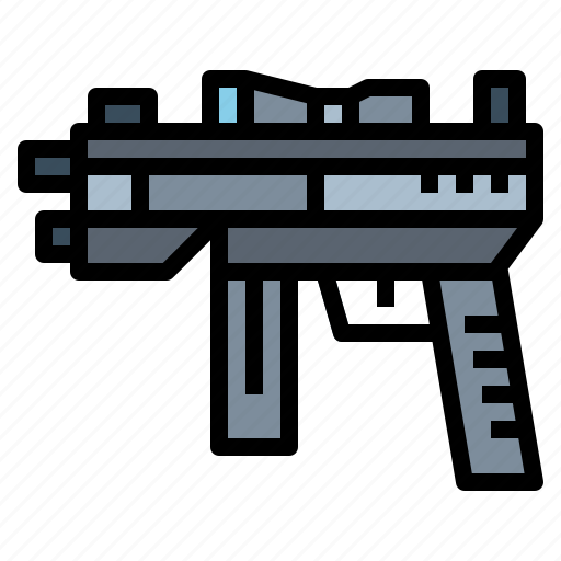 gun, police, security, weapon icon