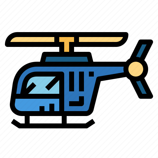 aircraft, flight, helicopter, transportation icon
