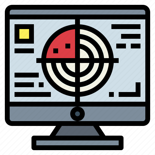 Area, place, radar, technology icon - Download on Iconfinder