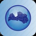 country, europa, europe, latvia, map, maps icon