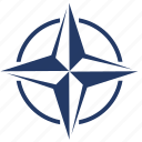 label, nato, political, sign icon