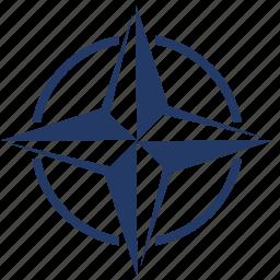 label, nato, political, sign icon
