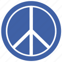 freedom, piece, political, sign icon