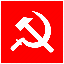 communism, label, political, red, sign icon