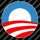 label, obama, political, sign, usa, vote
