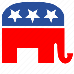 label, political, sign, usa, vote icon
