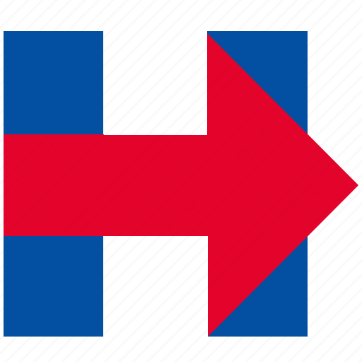 clinton, hillary, national, politic, program, sign, woman icon