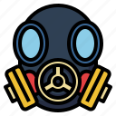 gas, mask, pollution, protection, toxic