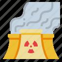 nuclear, plant, pollution, power, radiation