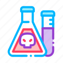 chemical, flask, liquid icon icon
