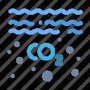 co2, gas, oil, pollution icon