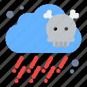 gas, poisonous, pollution icon