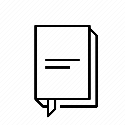 book, paper, polygraphy, publication icon