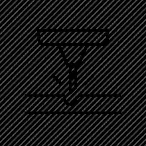 engraving, power, tool icon