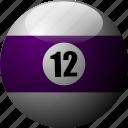 ballicons, billiards, pool, pool balls, pool table icon