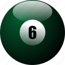 ballicons, billiards, pool, pool balls, pool table icon