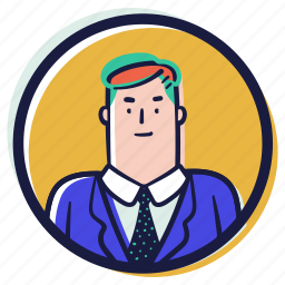 accounts, avatars, person, user, account, avatar, man, male, suit, business, formal
