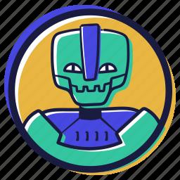 avatars, user, account, avatar, articial, intelligence, robot, bot