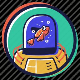 user, account, fish, tank, artificial, intelligence, robot