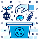 eco, ecology, hygiene, recycling, reprocess, reuse icon