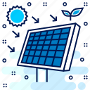 eco, ecology, ecosystem, science, solar, system icon
