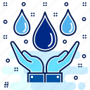 eco, ecology, ecosystem, save, science, water icon