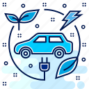 car, eco, ecolology, ecosystem, fuel, save icon
