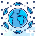 eco, ecology, ecosystemm, environment, friendly, save icon