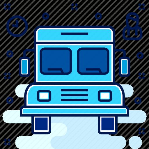 bus, conveyance, school, transport, transportation, van, vehicle icon