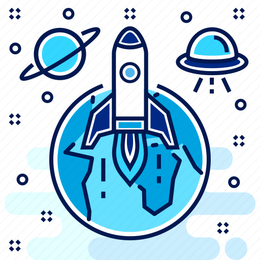 launch, missile, rocket, shoot, shootup, startup icon