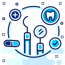 checkup, care, tooth, equipment, teeth, dentistry, dental