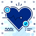 ecg, eco, heart, hospital, medical, report icon