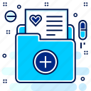 bill, hospital, invoice, medical, pharmacy, report icon