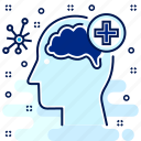 brain, checkup, head, hospital, medical, mind icon