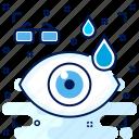 care, checkup, drop, drops, eye, hospital, medical icon