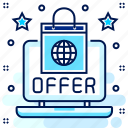 discount, offer, online, shop, shopping, web icon
