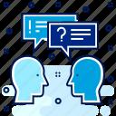 conversation, faq, information, question, help, support, feedback