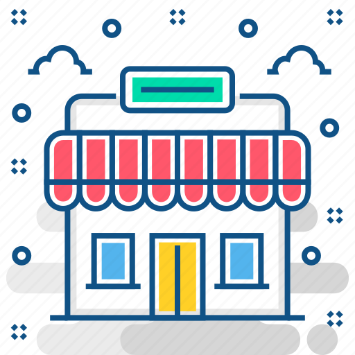 business, shop, shopping palace, store, superstore icon