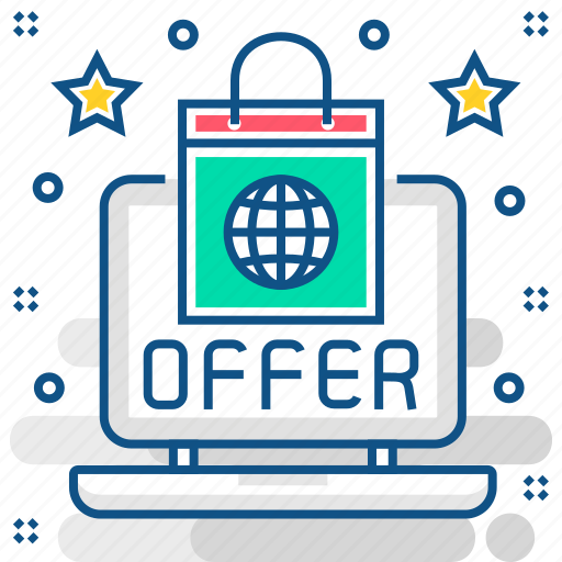 business, buy, offer, online, sale, shopping icon