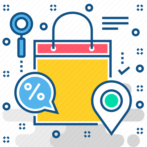 delivery, shopping, track order, track parcel, track shipping icon
