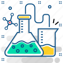 chemistry, flask, lab, laboratory, research, science, tube icon