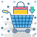 basket, business, discount, sale, shopping, superstore icon