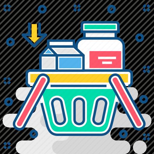 basket, buying, ecommerce, shopping, shopping basket icon