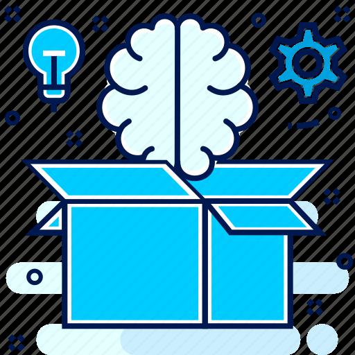 business, creative, idea, mind icon