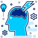 brainstorm, idea, spark, suggest, thing icon