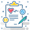clinic, health, healthcare, hospital, report, reports icon