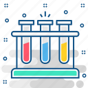 chemical, chemistry, flask, laboratory, sample, test, tubes icon