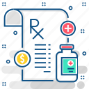 drug, healthcare, medical, medicine, pharmacy, prescription, treatment icon