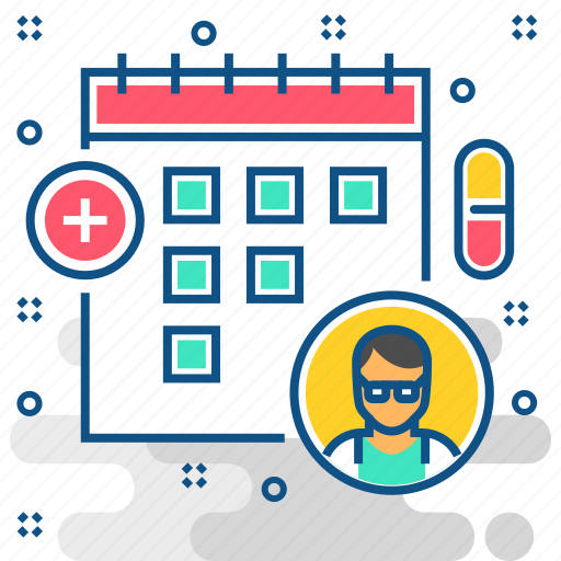 appointment, calendar, medical, month, schedule icon