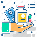 doctor, drug, hospital, medicine, pharmacy, pill, treatment icon